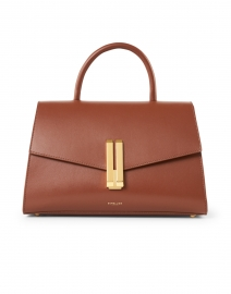 Montreal Cognac Smooth Leather Bag