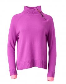 Insider Magenta Cashmere Sweater