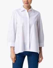 Hinson Wu - Isabella White Stretch Cotton Tunic