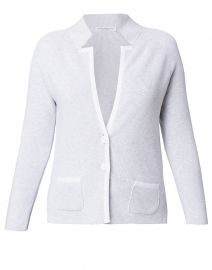 Culto Grey Jacket with White Trim