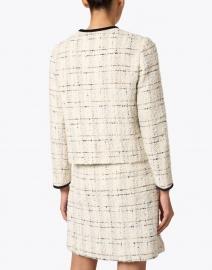 L.K. Bennett - Silvia Cream and Black Tweed Jacket