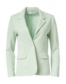 Energia Green Cotton Knit Blazer