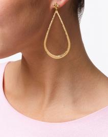 Gas Bijoux - Bo Bibi Gold Teardrop Earring