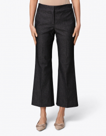 Piazza Sempione - Grace Grey Denim Subtle Flare Pant