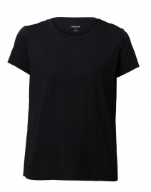 The Modern Tee Black Cotton Tee