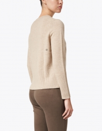 Chinti and Parker - Essential Oatmeal Beige Cashmere Sweater