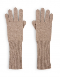 Oak Heather Cashmere Long Gloves