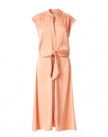 Austin Peach Satin Dress