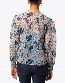Roller Rabbit - Maribelle Blue Floral Blouse