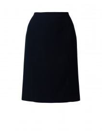 Elin Navy Crepe Skirt