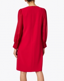 Max Mara Studio - Baccano Red Shift Dress