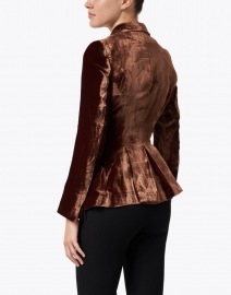 T.ba - Mariane Copper Velvet Jacket