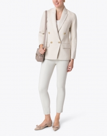 Vince - Ivory Cotton Linen Blazer