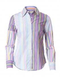 Mafalda Multicolored Striped Cotton Shirt