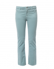 Seafoam Stretch Cotton Corduroy Bootcut Pant
