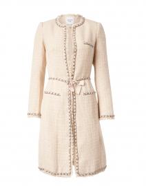 Mariata Beige Tweed Jacket