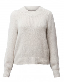 Mele Grey Melange Cashmere Sweater