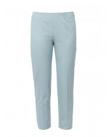 Audrey Seafoam Blue Stretch Cotton Pant