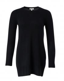 Black Cashmere Tunic Sweater