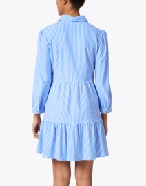 Jude Connally - Henley Blue and White Pinstripe Shirt Dress