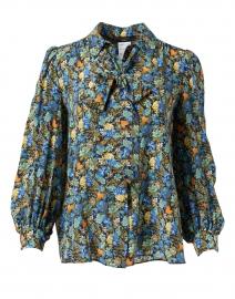 Edda Multi Floral Silk Blouse