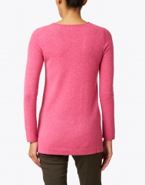 Kinross - Berry Pink Cashmere Swing Sweater