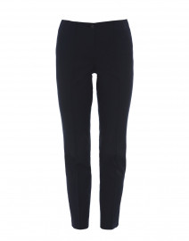 Ros Navy Cotton Stretch Pant