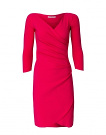 Emerentienne Raspberry Stretch Jersey Dress