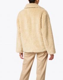 Vince - Tan Faux Fur Teddy Coat