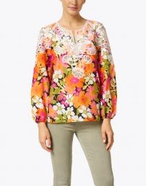 Kobi Halperin - Charlotte Garden Print Cotton Silk Blouse