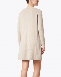 Allude - Beige Cashmere Knit Dress