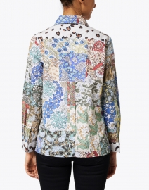 Vilagallo - Isabella Patchwork Print Cotton Top