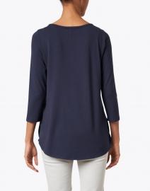 Hinson Wu - Paloma Navy Tailored Knit Shirt