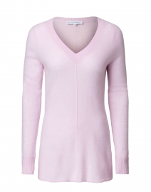 Rosewater Heather Cashmere Tunic Sweater