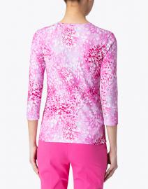 Leggiadro - Pink Florettes Cotton Jersey Tee