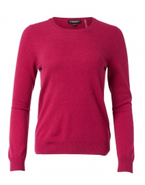 Orchid Raspberry Cashmere Sweater