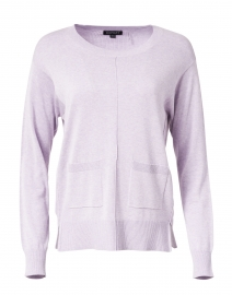 Lilac Cotton and Viscose Sweater
