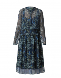 Ulla Navy Fairytale Garden Dress