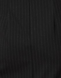 BOSS Hugo Boss - Duncania Black Pinstriped Jersey Dress