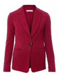 Byrd Fragola Red Wool Blazer