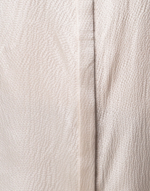 Brochu Walker - Walker Grey Hammered Silk Blouse