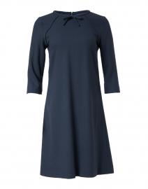 Mirabelle Iron Grey Wool Crepe Dress
