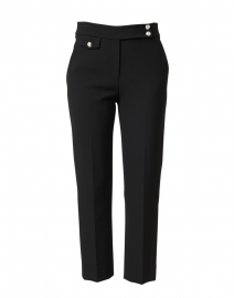 Renzo Black Stretch Essential Pant