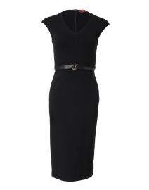 Sebino Black Stretch Jersey Dress