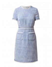 Sidney Blue Tweed Dress