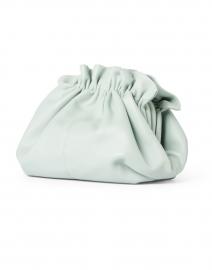 Loeffler Randall - Salem Sage Gathered Nappa Leather Clutch
