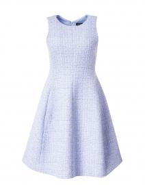 Light Blue Lurex Tweed Dress