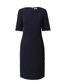 Dark Navy Ponte Dress
