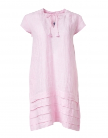 Pomegranate - Pink Stripe Cotton Dress