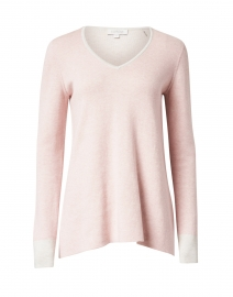Powder Pink Cotton Cashmere Sweater